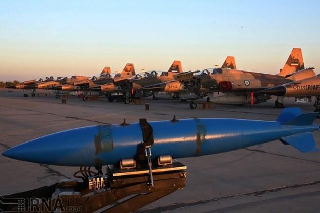 Không quân Iran diễn tập đáp trả đòn tấn công phủ đầu - ảnh 10