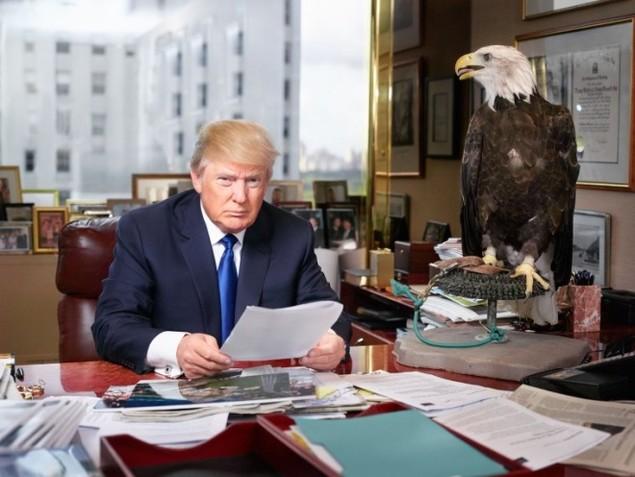 Câu chuyện đằng sau những bức ảnh biểu tượng của Donald Trump - ảnh 11