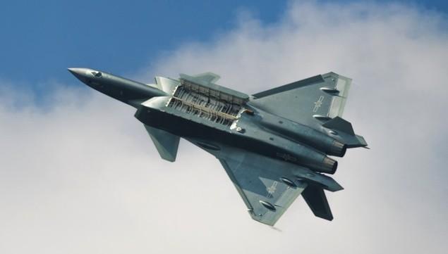 Tiêm kích tàng hình Trung Quốc lần đầu bay theo đội hình - ảnh 4