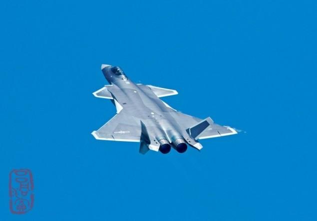 Tiêm kích tàng hình Trung Quốc lần đầu bay theo đội hình - ảnh 6