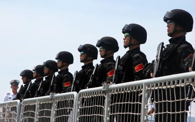 3 chiến hạm Hải quân Trung Quốc cập cảng Cam Ranh - ảnh 10