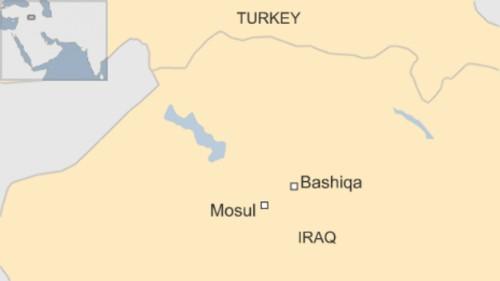 IS bị đánh đuổi khỏi thị trấn gần Mosul - ảnh 1