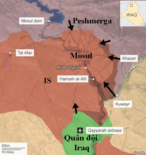 Bóng ma sa mạc - Mưu toan trả thù của IS khi Mosul thất thủ - ảnh 1