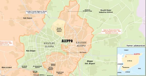 Putin từ chối nối lại không kích ở Aleppo - ảnh 1