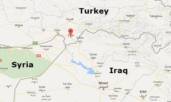 Thổ Nhĩ Kỳ điều xe tăng đến sát biên giới với Iraq - ảnh 1