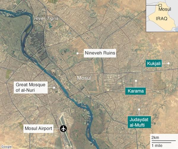 IS tung video giao chiến với quân đội Iraq ở Mosul - ảnh 1