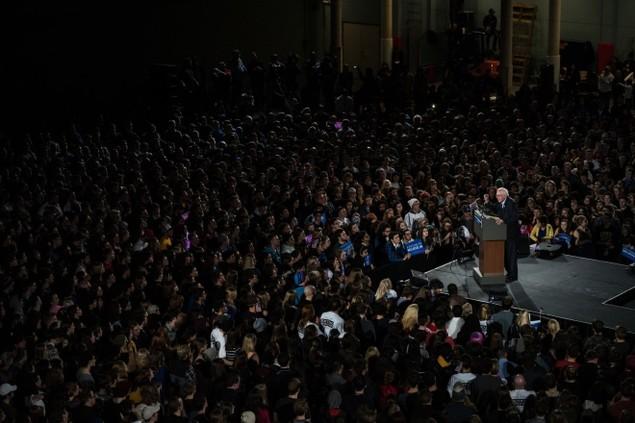 Những khoảnh khắc ấn tượng trong mùa bầu cử tổng thống Mỹ - ảnh 5