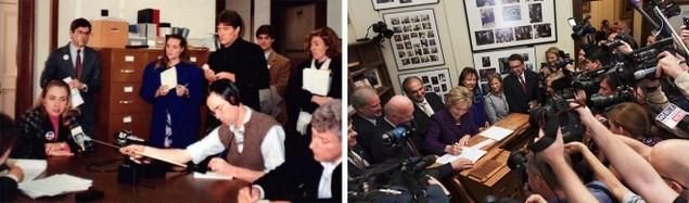 Clinton trong chiến dịch tranh cử tổng thống 1992 và 2016 - ảnh 1