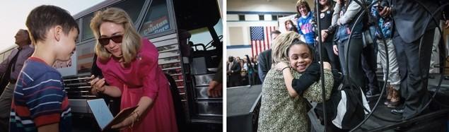 Clinton trong chiến dịch tranh cử tổng thống 1992 và 2016 - ảnh 8
