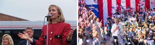 Clinton trong chiến dịch tranh cử tổng thống 1992 và 2016 - ảnh 10