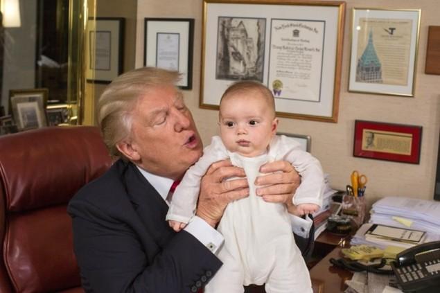 Tính cách Donald Trump qua ảnh - ảnh 14