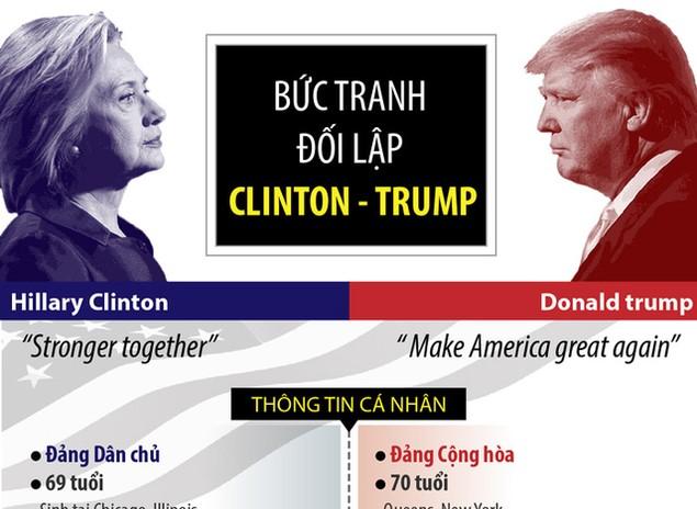 Nước Mỹ bước vào cuộc bầu cử lịch sử - ảnh 3