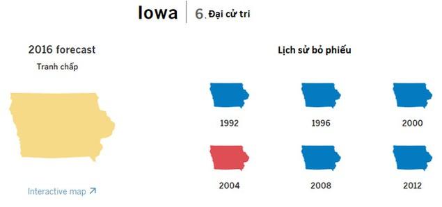 Cục diện bầu cử tổng thống Mỹ qua các bang chiến trường - ảnh 4