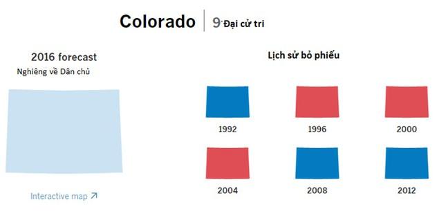 Cục diện bầu cử tổng thống Mỹ qua các bang chiến trường - ảnh 6