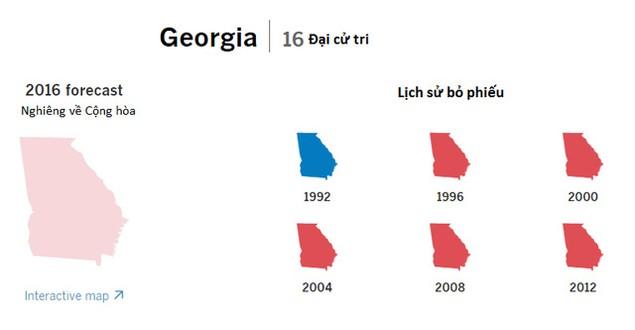 Cục diện bầu cử tổng thống Mỹ qua các bang chiến trường - ảnh 8