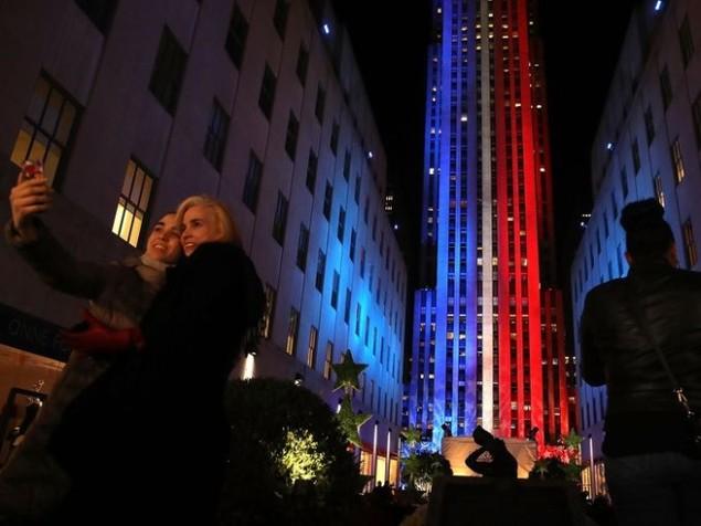 Cử tri Mỹ chụp ảnh 'tự sướng' trong ngày bầu cử - ảnh 3