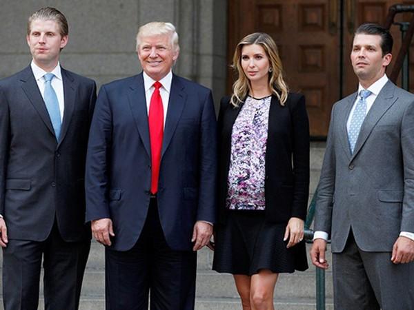 Các con Donald Trump chuẩn bị tiếp quản đế chế của cha - ảnh 1