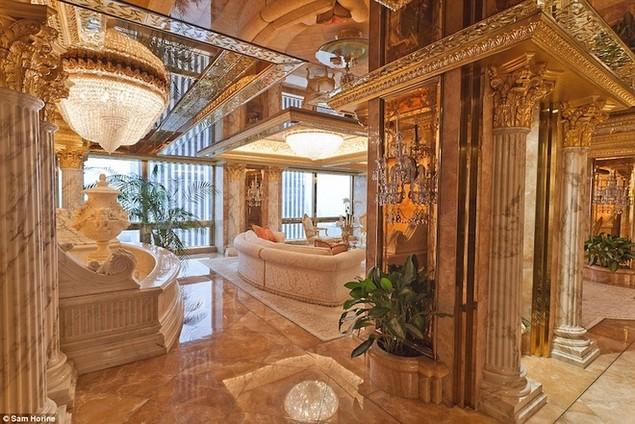 Bên trong dinh thự 100 triệu USD của Donald Trump ở New York - ảnh 2
