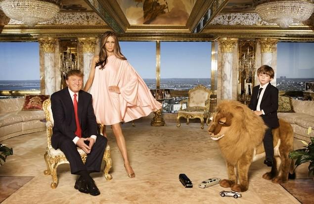 Bên trong dinh thự 100 triệu USD của Donald Trump ở New York - ảnh 3