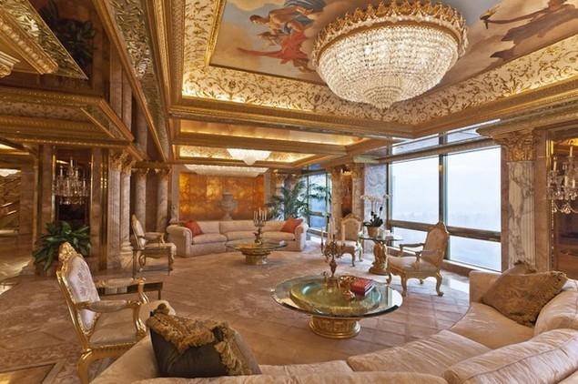 Bên trong dinh thự 100 triệu USD của Donald Trump ở New York - ảnh 4