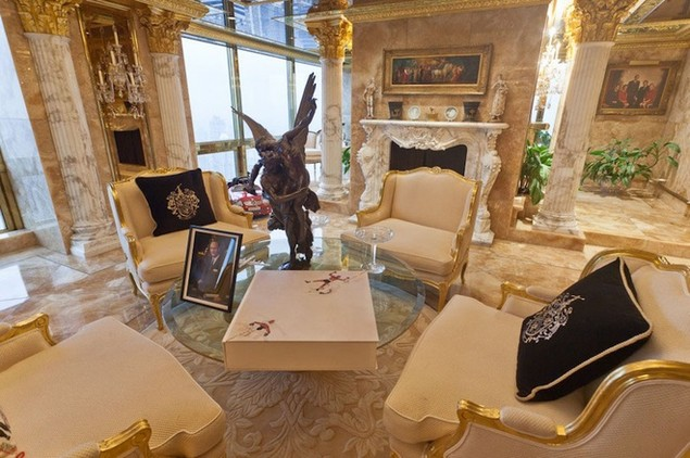 Bên trong dinh thự 100 triệu USD của Donald Trump ở New York - ảnh 6