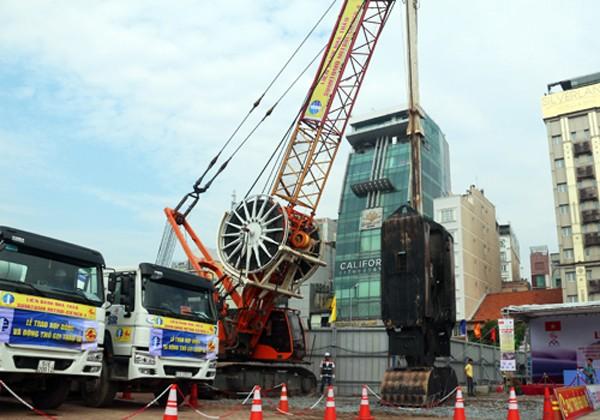 TP HCM khởi công ga ngầm Bến Thành - ảnh 2