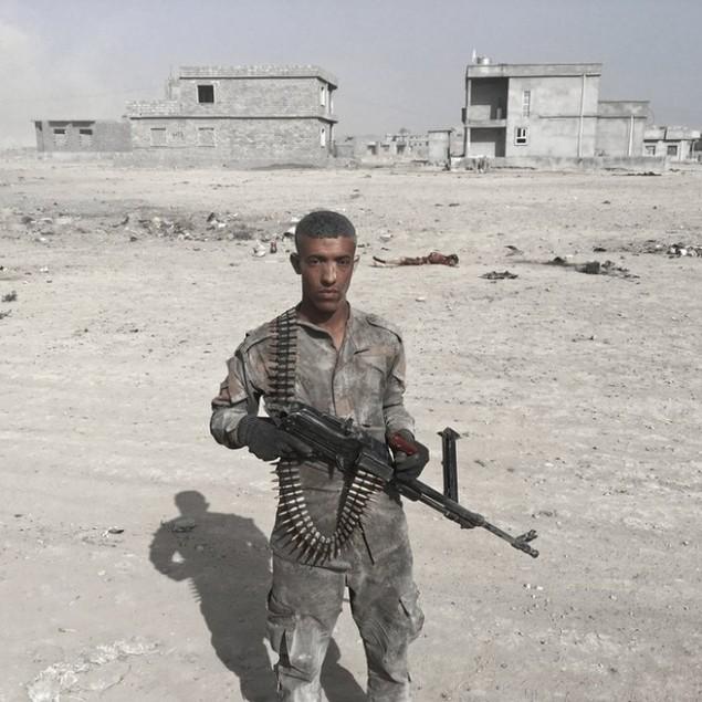 Những sắc áo chiến binh trong lực lượng giải phóng Mosul - ảnh 1