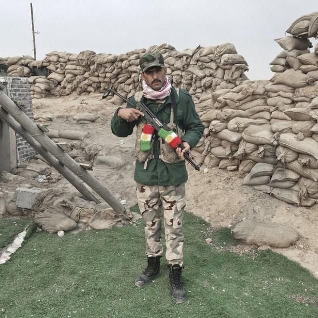 Những sắc áo chiến binh trong lực lượng giải phóng Mosul - ảnh 3