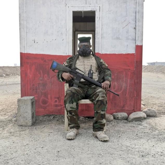 Những sắc áo chiến binh trong lực lượng giải phóng Mosul - ảnh 4