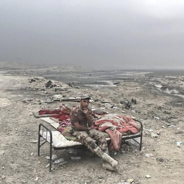 Những sắc áo chiến binh trong lực lượng giải phóng Mosul - ảnh 5