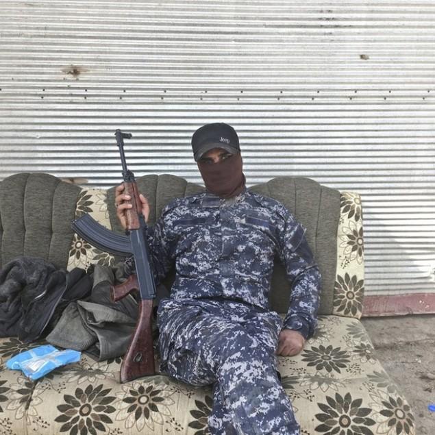 Những sắc áo chiến binh trong lực lượng giải phóng Mosul - ảnh 6