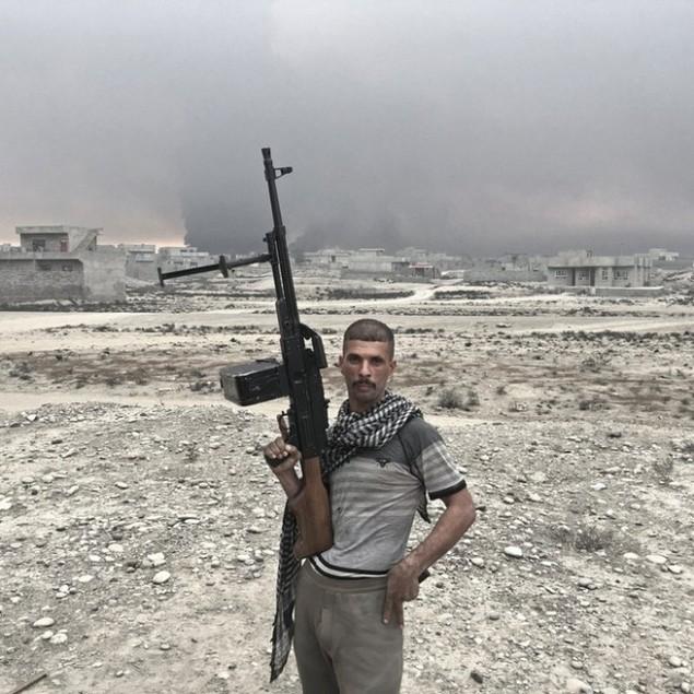 Những sắc áo chiến binh trong lực lượng giải phóng Mosul - ảnh 7