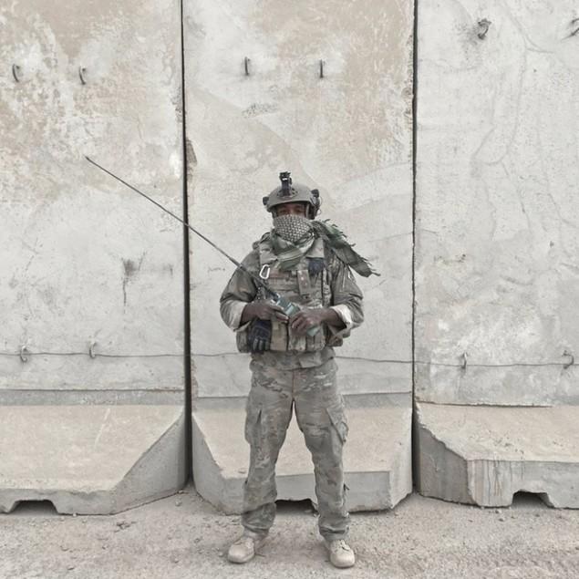 Những sắc áo chiến binh trong lực lượng giải phóng Mosul - ảnh 8