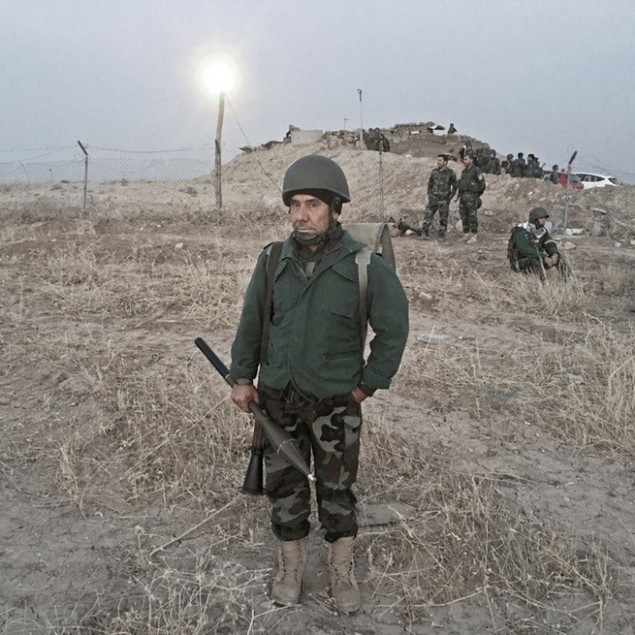 Những sắc áo chiến binh trong lực lượng giải phóng Mosul - ảnh 9