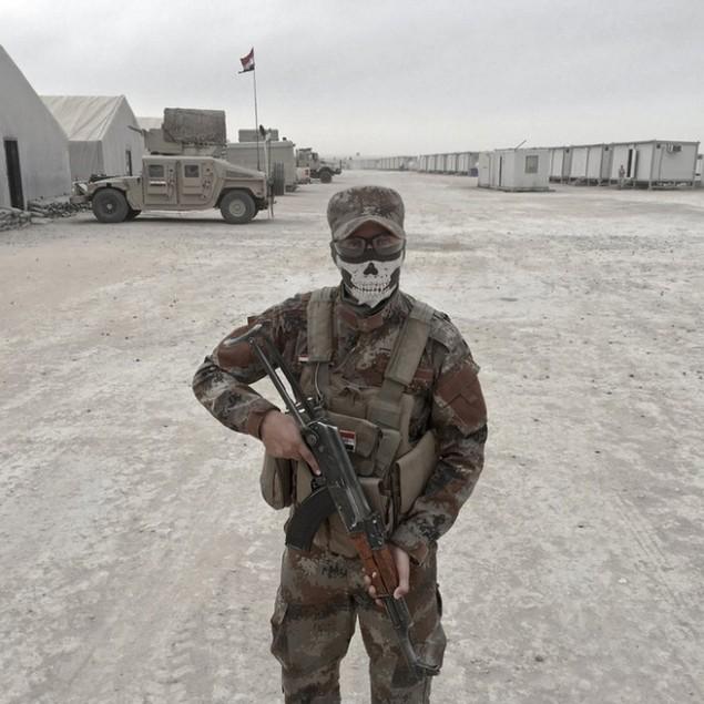 Những sắc áo chiến binh trong lực lượng giải phóng Mosul - ảnh 10