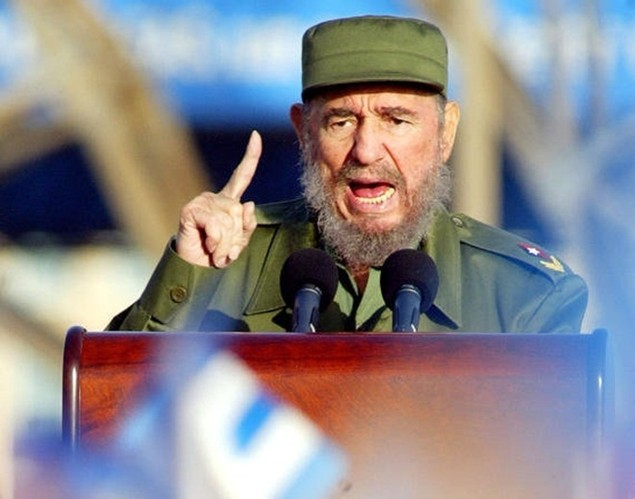 Cuộc đời lãnh tụ Cuba Fidel Castro qua ảnh - ảnh 5