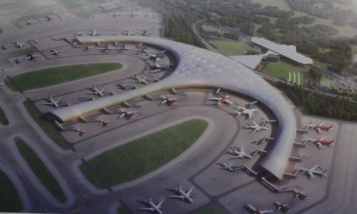 9 phương án kiến trúc nhà ga sân bay Long Thành - ảnh 4