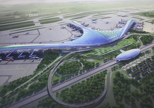 9 phương án kiến trúc nhà ga sân bay Long Thành - ảnh 7