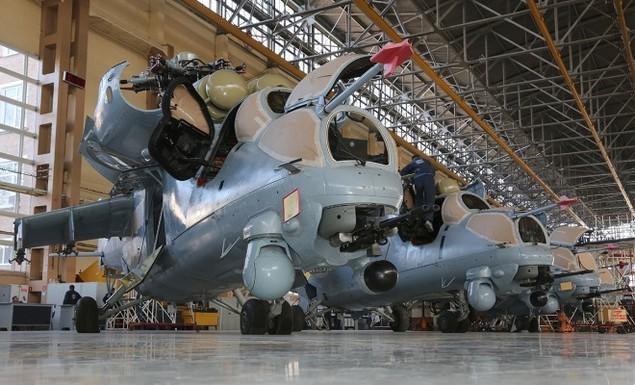 Bên trong nhà máy sản xuất trực thăng 'thợ săn đêm' Mi-28NE - ảnh 8