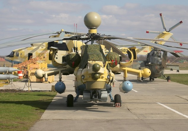 Bên trong nhà máy sản xuất trực thăng 'thợ săn đêm' Mi-28NE - ảnh 11