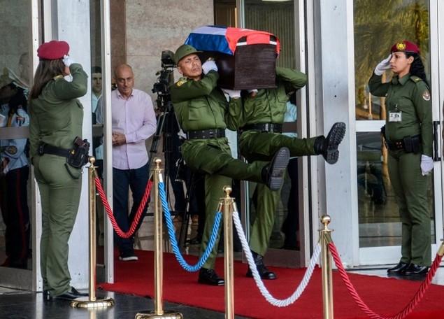 Tro cốt Fidel Castro bắt đầu hành trình về 'cái nôi' Cách mạng - ảnh 2