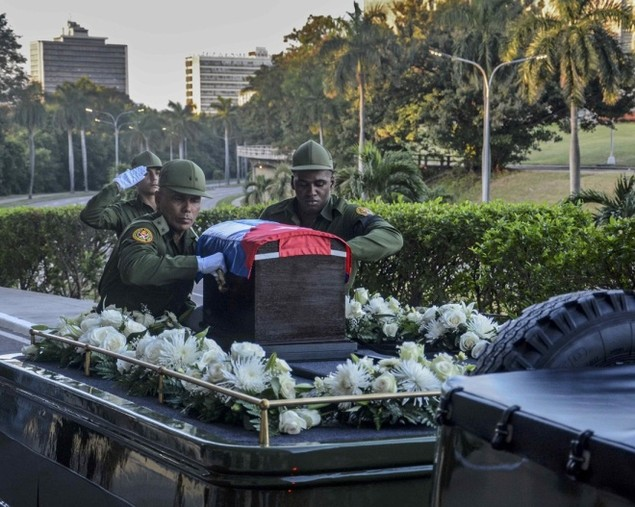 Tro cốt Fidel Castro bắt đầu hành trình về 'cái nôi' Cách mạng - ảnh 3