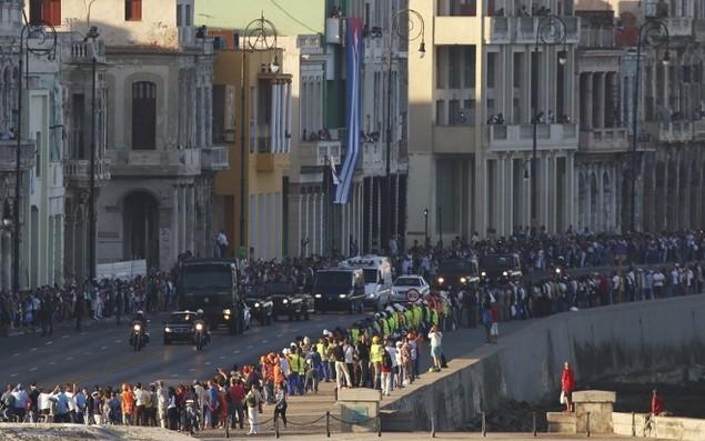 Tro cốt Fidel Castro bắt đầu hành trình về 'cái nôi' Cách mạng - ảnh 6