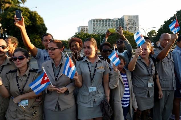 Tro cốt Fidel Castro bắt đầu hành trình về 'cái nôi' Cách mạng - ảnh 7
