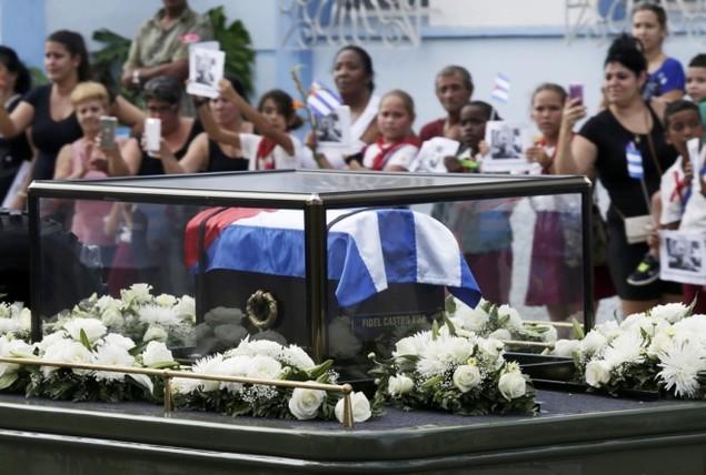 Tro cốt Fidel Castro bắt đầu hành trình về 'cái nôi' Cách mạng - ảnh 8