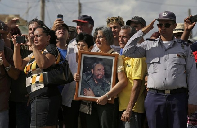 Tro cốt Fidel Castro bắt đầu hành trình về 'cái nôi' Cách mạng - ảnh 10