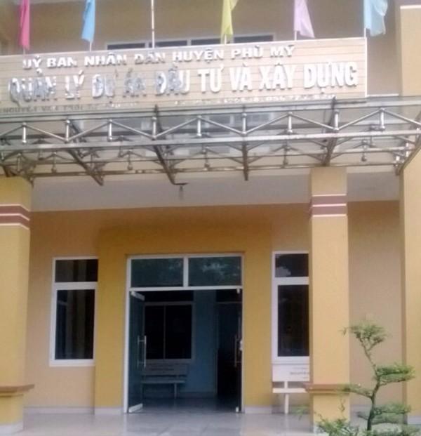 Đấu thầu tại Huyện Phù Mỹ (Bình Định): Khép kín phát hành HSMT? - ảnh 1
