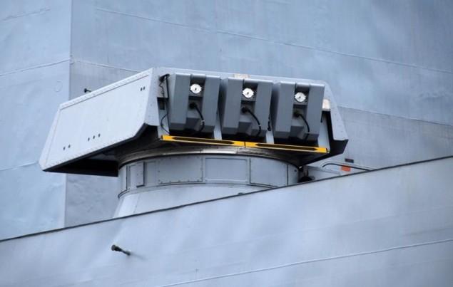 Lưới lửa trên khu trục hạm bảo vệ tàu sân bay Pháp - ảnh 10