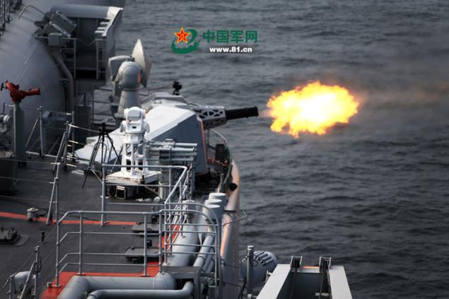 Tàu sân bay Trung Quốc lần đầu phô diễn hỏa lực hiệp đồng - ảnh 8