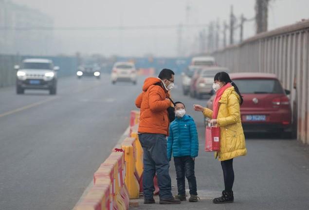 Ô nhiễm không khí ở Trung Quốc vượt quy chuẩn của WHO 100 lần - ảnh 7